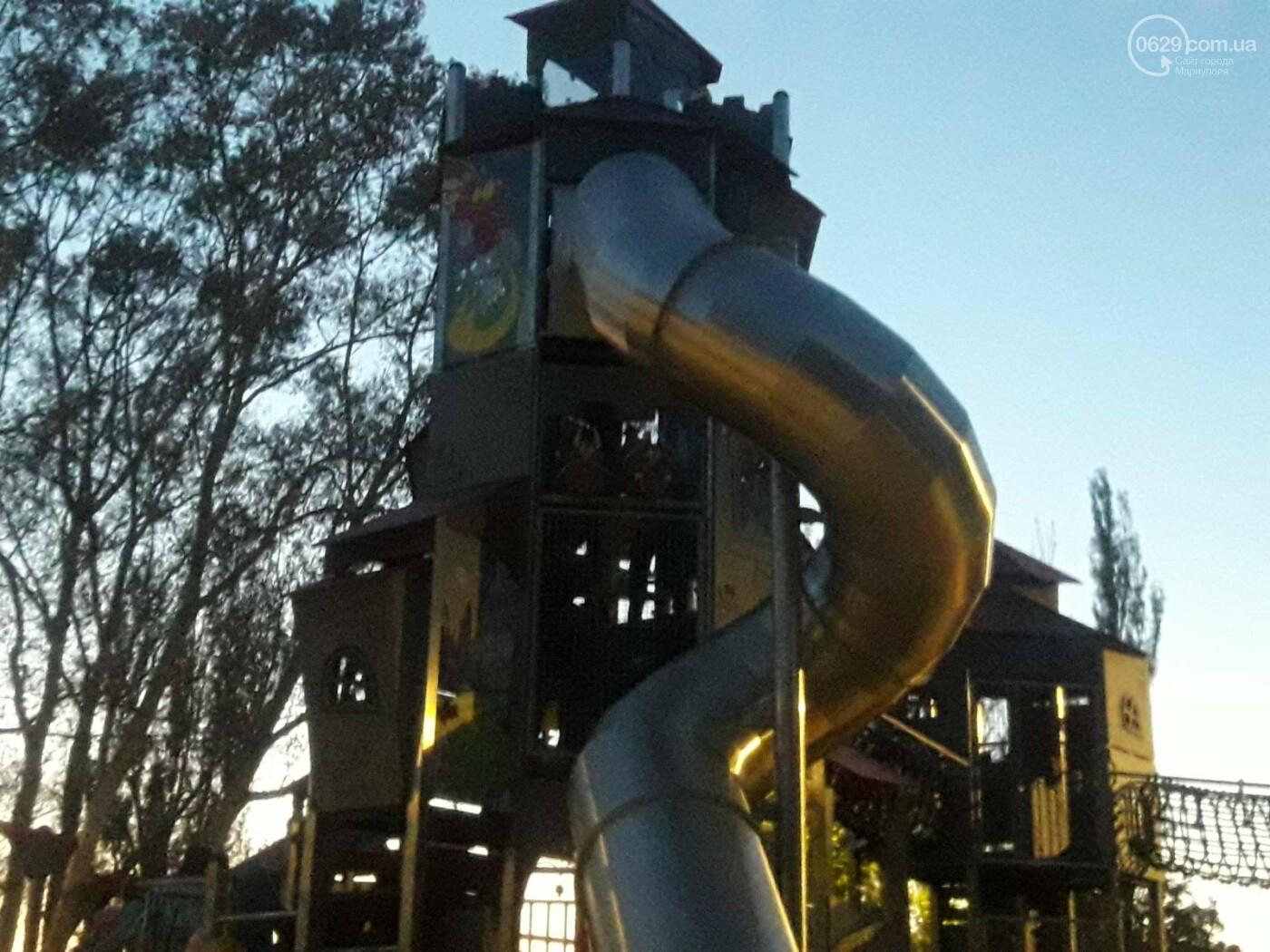 В Мариуполе в парке Гурова на детской площадке травмировался ребенок, - ФОТО, фото-6