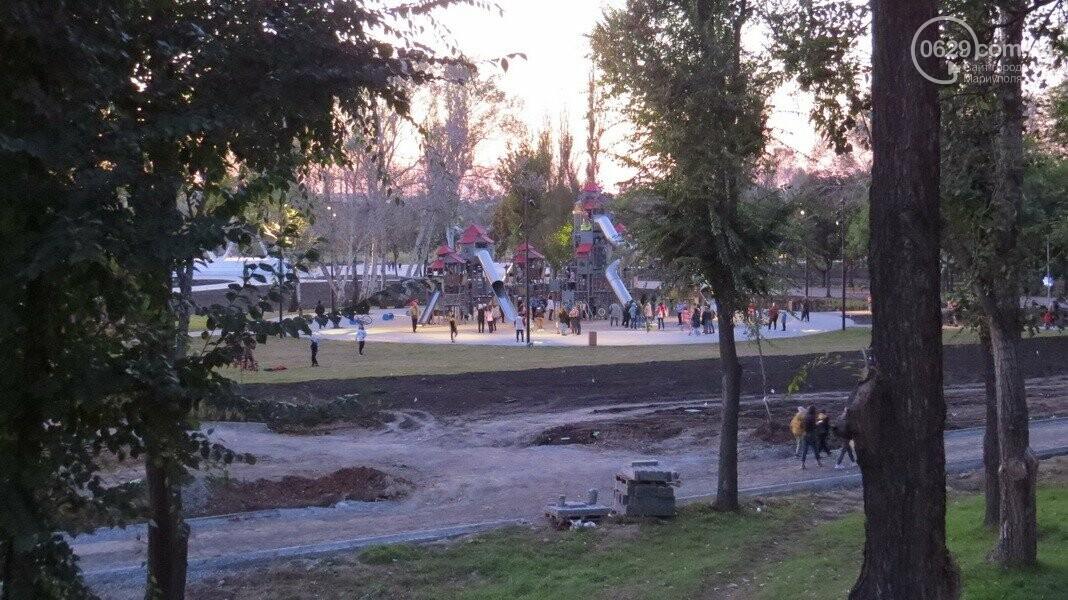 В Мариуполе в парке Гурова на детской площадке травмировался ребенок, - ФОТО, фото-11