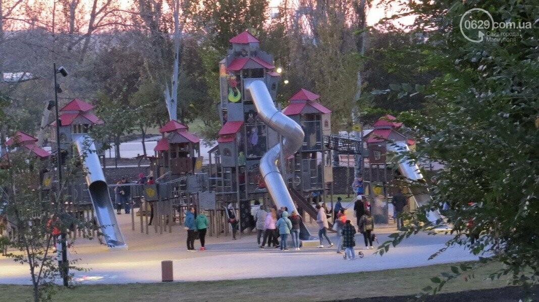 В Мариуполе в парке Гурова на детской площадке травмировался ребенок, - ФОТО, фото-12