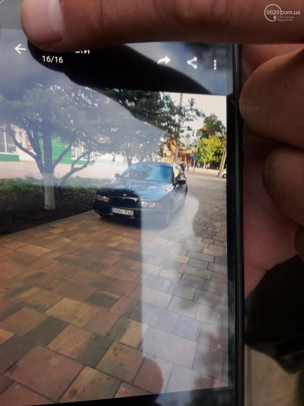 """В Мариуполе BMW """"обнял"""" столб. Пострадавший водитель сбежал из больницы, - ФОТО, фото-2"""