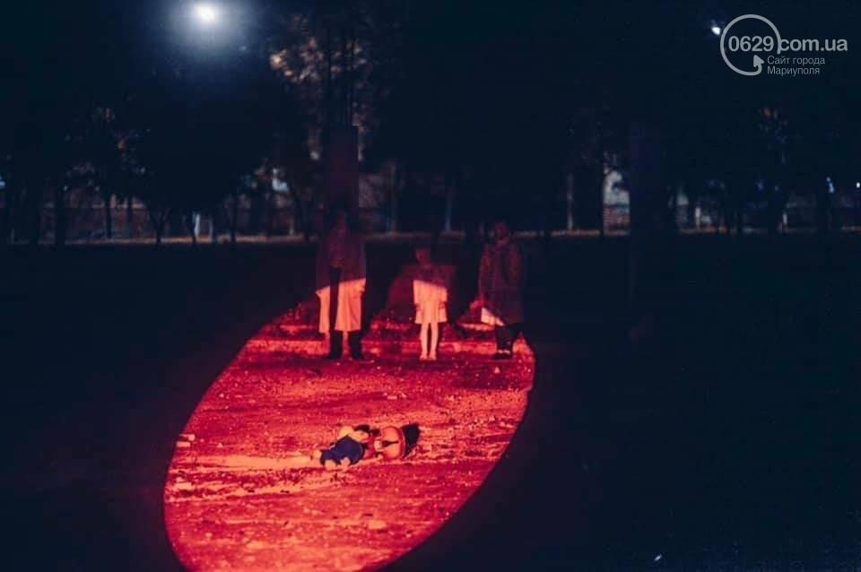 """""""33771"""": на заброшенной танцплощадке Мариуполя  состоялся таинственный перформанс, - ФОТО, ВИДЕО, фото-4"""