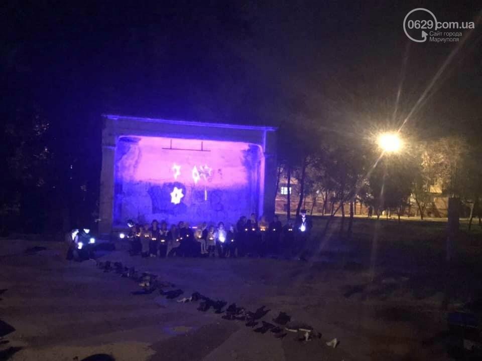 """""""33771"""": на заброшенной танцплощадке Мариуполя  состоялся таинственный перформанс, - ФОТО, ВИДЕО, фото-1"""
