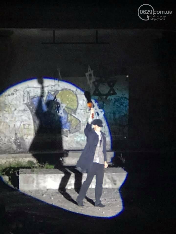 """""""33771"""": на заброшенной танцплощадке Мариуполя  состоялся таинственный перформанс, - ФОТО, ВИДЕО, фото-3"""