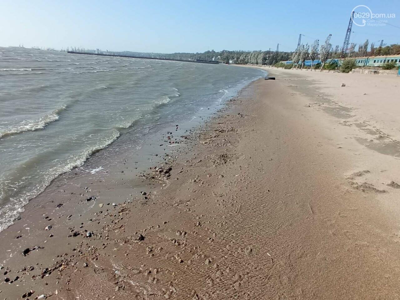 В Мариуполе море оголило дно, - ФОТОРЕПОРТАЖ, фото-1