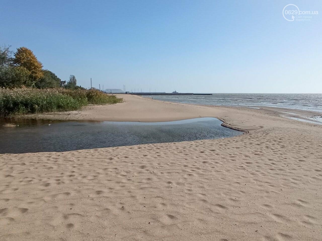 В Мариуполе море оголило дно, - ФОТОРЕПОРТАЖ, фото-4
