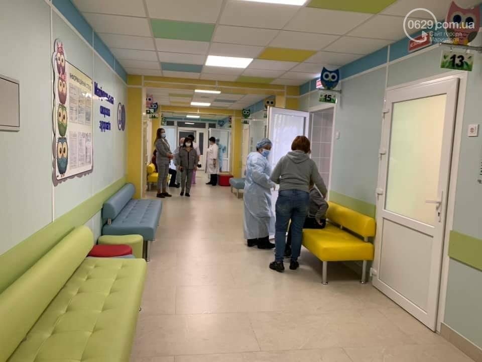 За собственные средства.  Как в Мариуполе после ремонта  выглядит детская амбулатория ,- ФОТО, фото-4