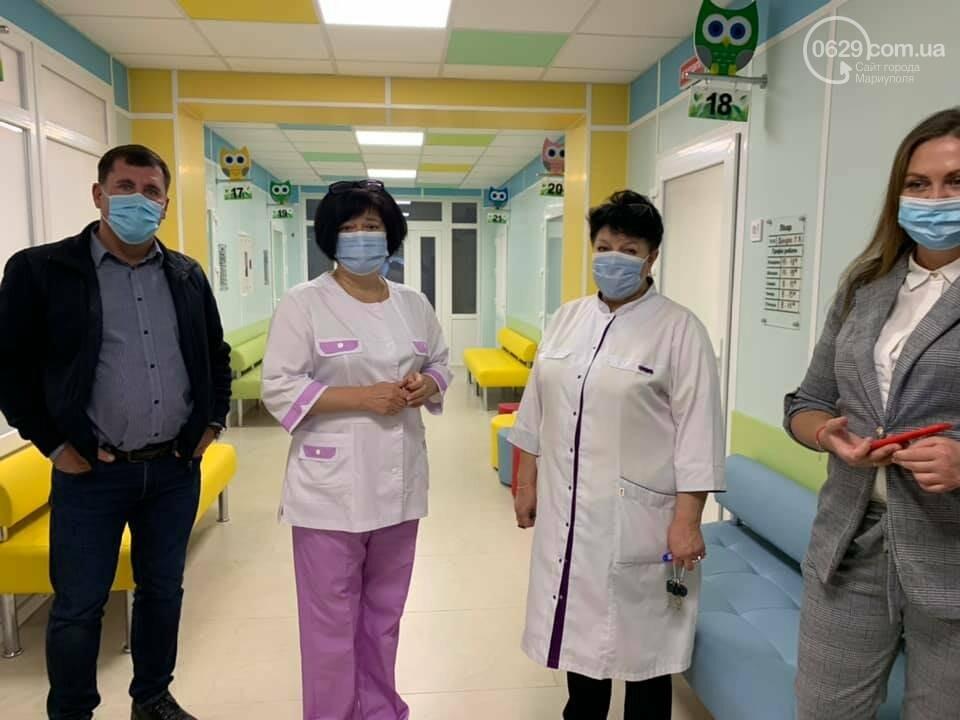 За собственные средства.  Как в Мариуполе после ремонта  выглядит детская амбулатория ,- ФОТО, фото-10