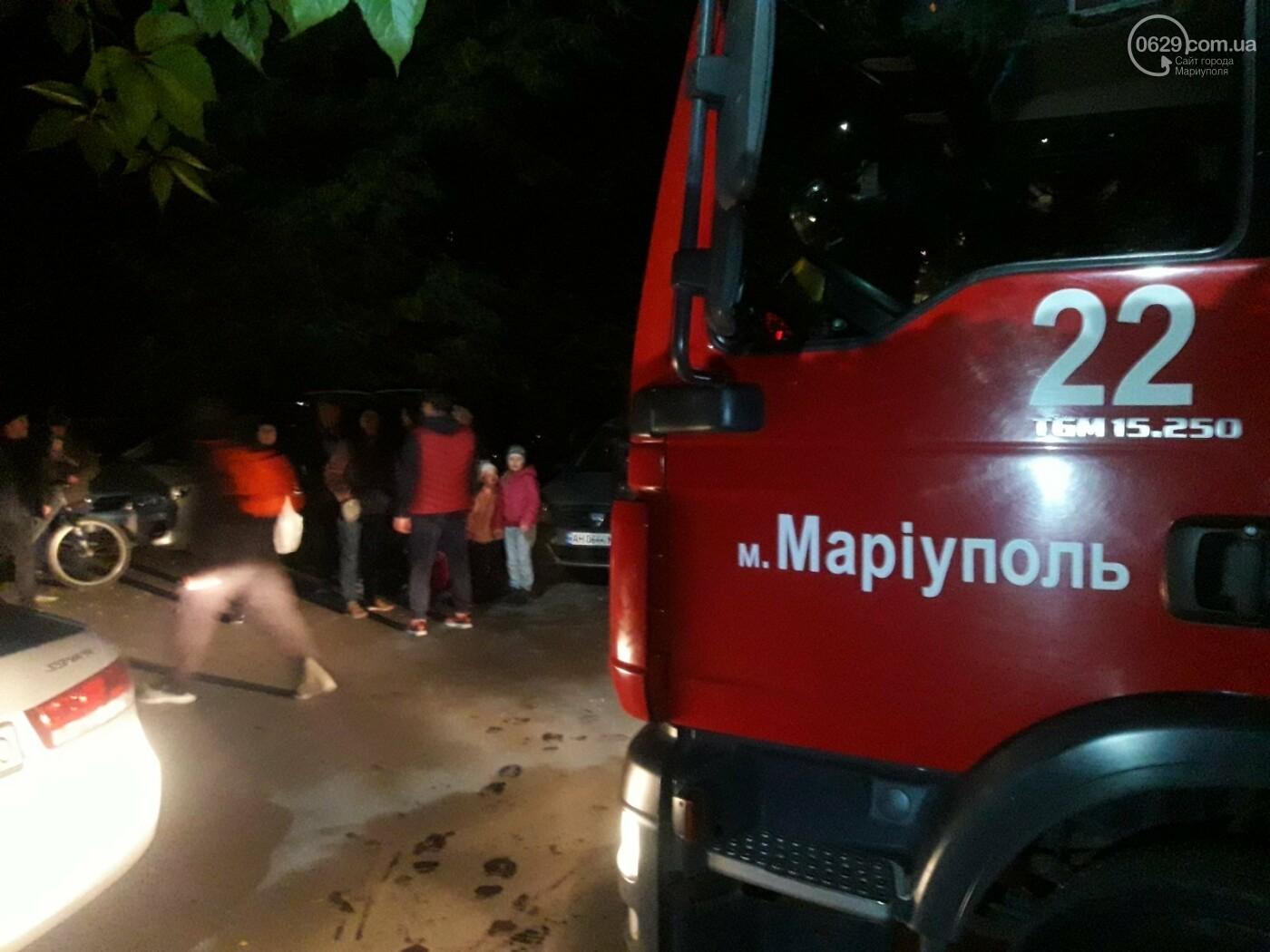 В Мариуполе при пожаре  в девятиэтажке пострадал мужчина, - ФОТО, фото-2