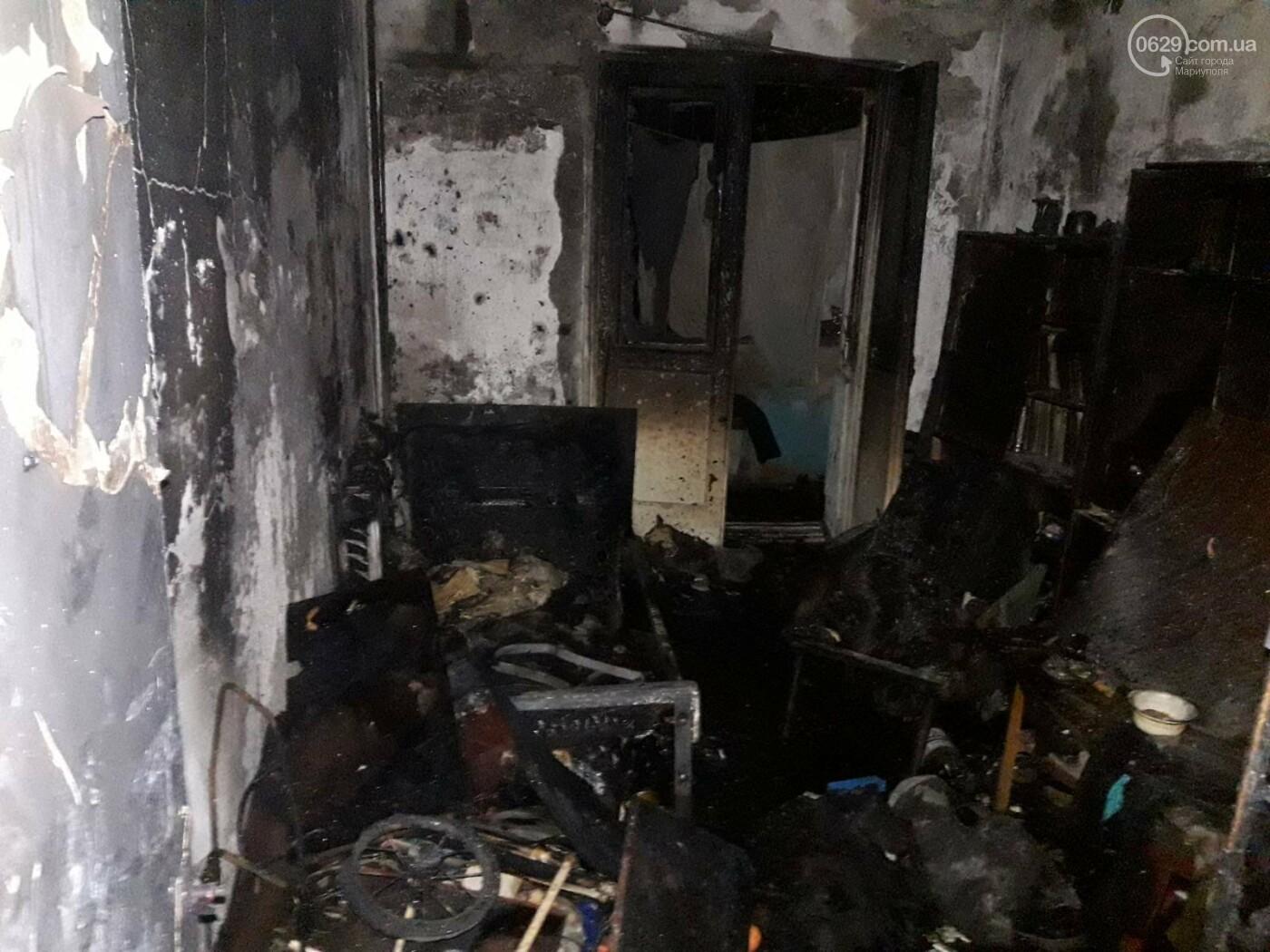 В Мариуполе при пожаре  в девятиэтажке пострадал мужчина, - ФОТО, фото-4