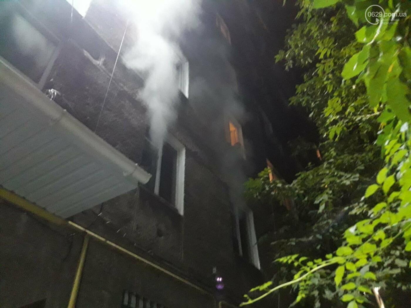 В Мариуполе при пожаре  в девятиэтажке пострадал мужчина, - ФОТО, фото-3