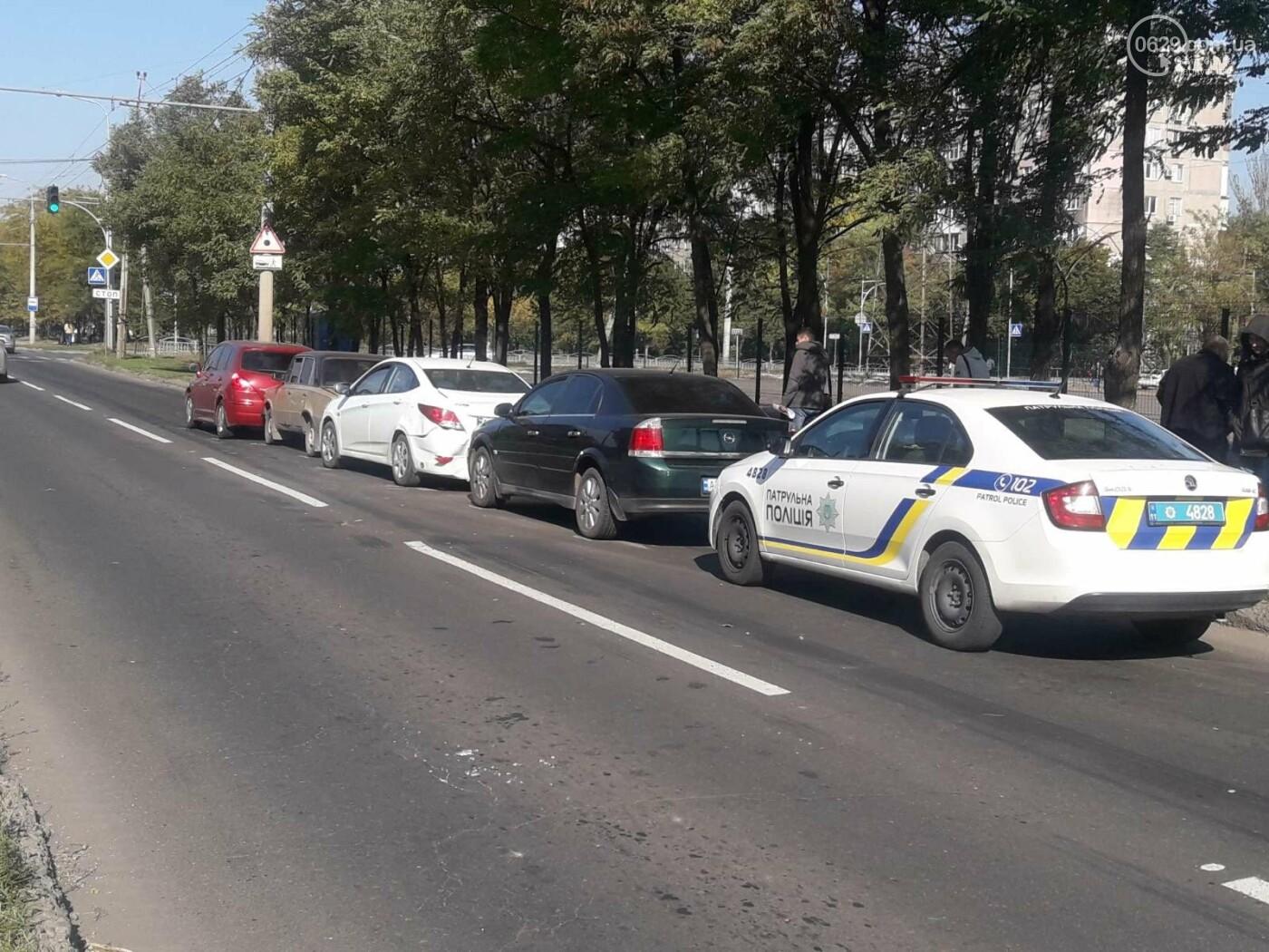 В Мариуполе столкнулись сразу четыре автомобиля, - ФОТО, фото-3