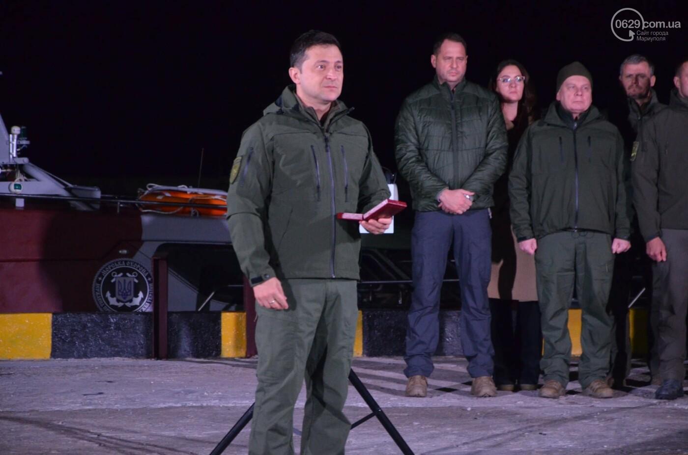 В Мариуполе Владимир Зеленский поздравил защитников и защитниц Украины,- ФОТО, ВИДЕО, фото-1