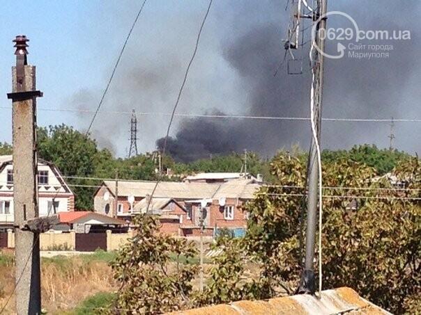 Окраины Новоазовска обстреливают, но в городе нет паники