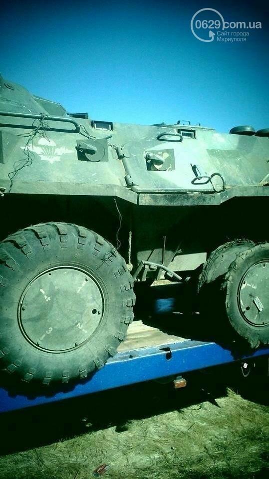 Российский БТР послужит украинцам (фото)