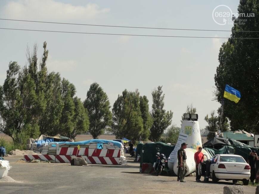 Мариупольцы осаждают военкоматы и роют окопы (фото)