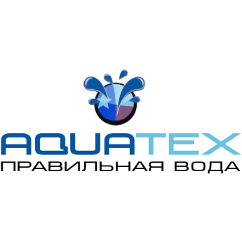Логотип - АКВАТЕКС - Фильтры для Воды - Умягчение Воды - Насосное Оборудование