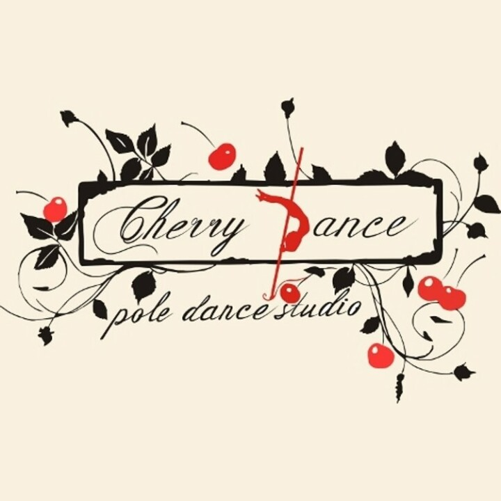Логотип - CHERRY POLE DANCE