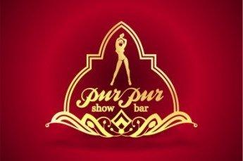 Логотип - PurPur, шоу-бар