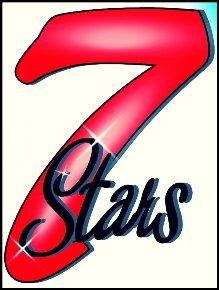 Логотип - 7Stars*, Балконы , лоджии «под ключ» , окна, французские натяжные потолки .