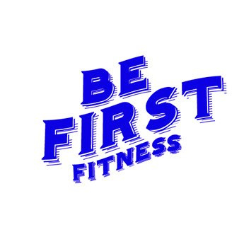 Логотип - Фитнес клуб «Be First Fitness»