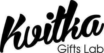 Логотип - Квитка - доставка цветов и подарков KVITKA Gifts Lab