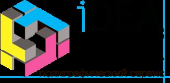 Логотип - iDEA-print - печать визиток и другой полиграфии. Широкоформатная печать.