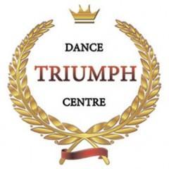 Логотип - Школа танцев - TRIUMPH dance centre - Занятия начаты! - Присоединяйтесь!