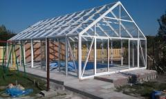 Логотип - Рим буд - алюминиевые конструкции любой сложности: двери, окна, фасадные системы