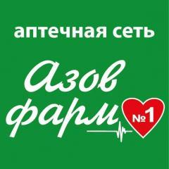 Логотип - Аптечная сеть «Азовфарм» («Ильич-фарм»)