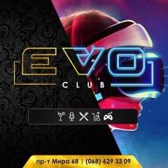 Логотип - Evo Game Club | Karaoke & Lounge | 24/7