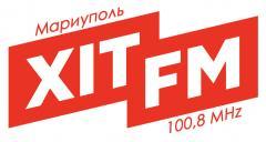 Логотип - Хит FM  Мариуполь 100.8 MHz