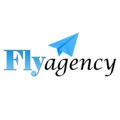 Логотип - Рекламное Агентство Fly Agency