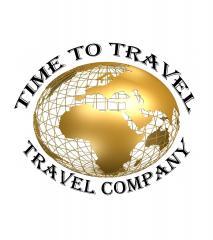 """Логотип - Туристический оператор """"Time To Travel"""""""
