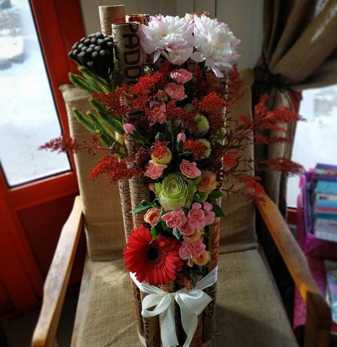 Наши цветочные композиции, фото-10