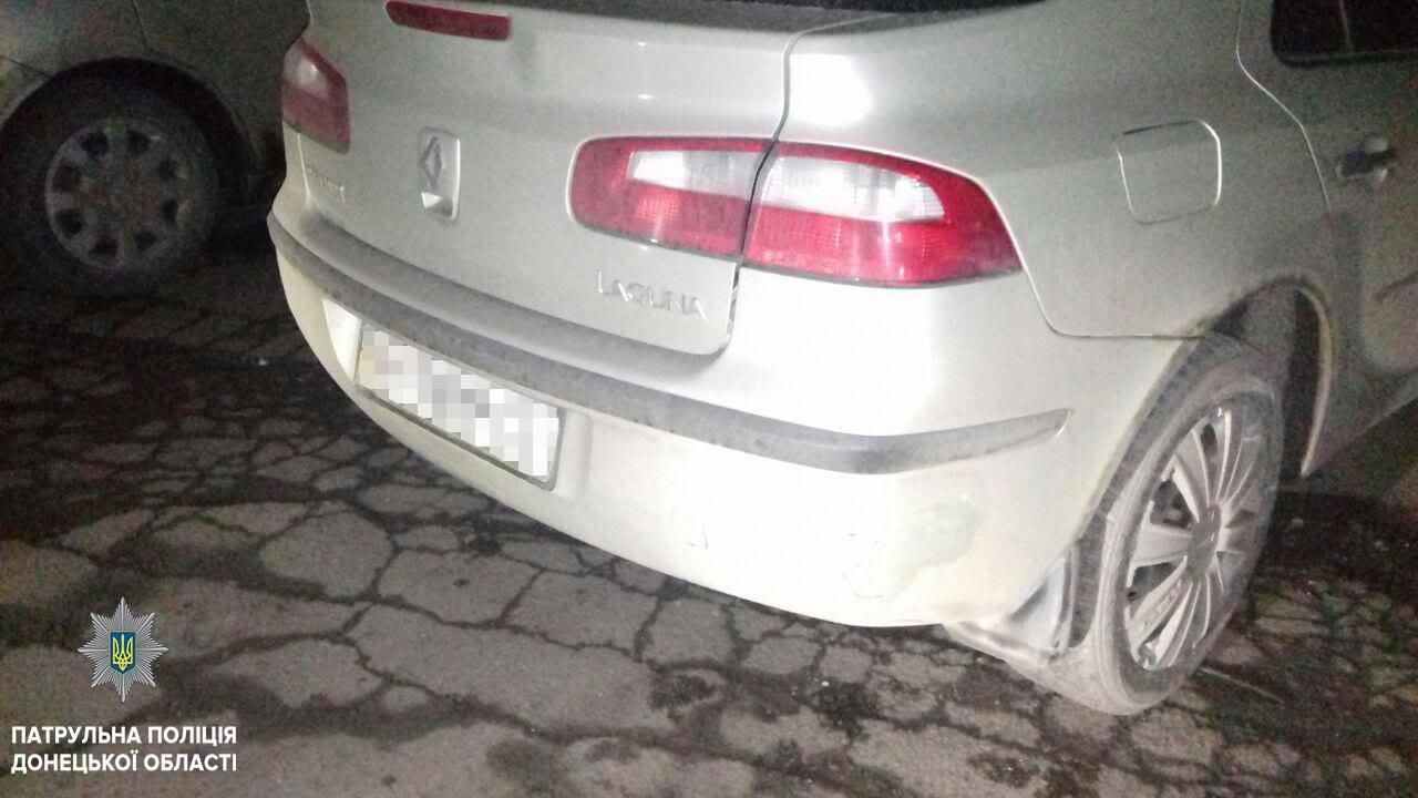 В Мариуполе патрульные разыскали виновника ДТП (ФОТО), фото-2
