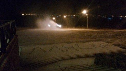 В Мариуполе заснежили главную горку (ФОТО), фото-2
