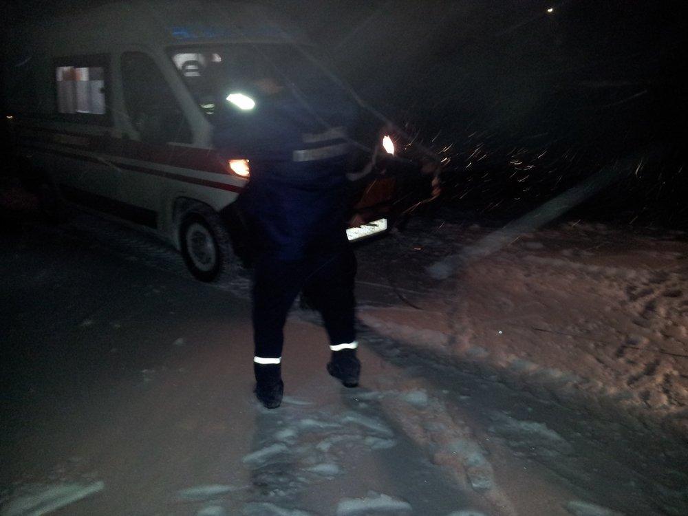 В Донецкой области спасатели 46 раз доставали автомобили из снежных заносов , фото-10