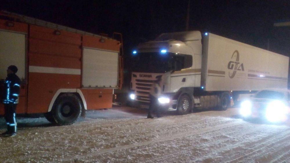 В Донецкой области спасатели 46 раз доставали автомобили из снежных заносов , фото-5