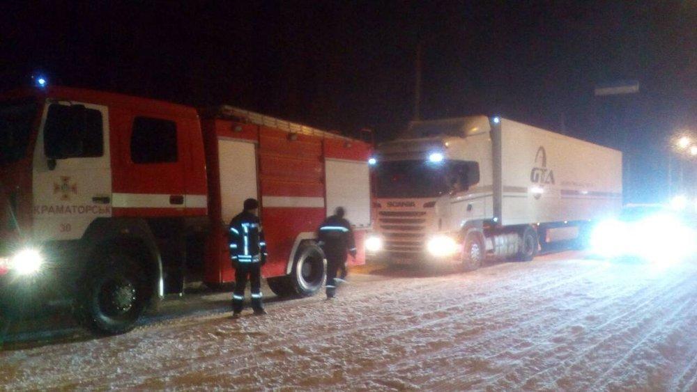 В Донецкой области спасатели 46 раз доставали автомобили из снежных заносов , фото-4