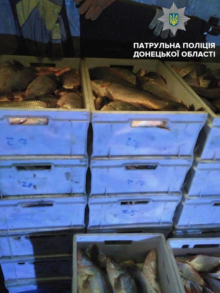 В Мариуполе патрульные задержали микроавтобус с 30 ящиками рыбы (ФОТО), фото-2