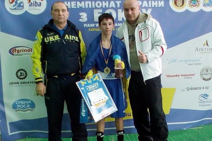 На чемпионате Украины по боксу мариуполец завоевал золотую медаль, фото-1