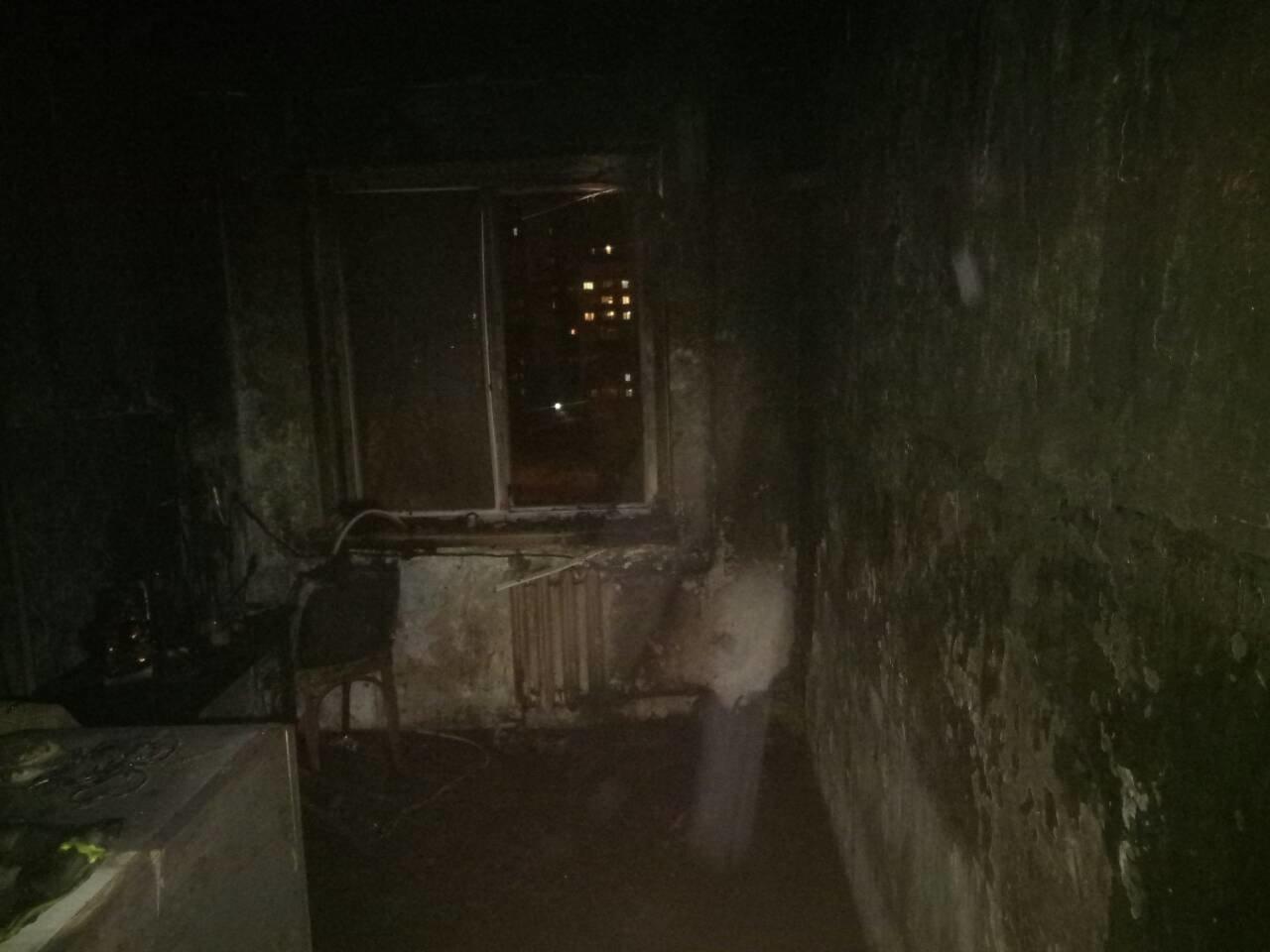 В Мариуполе из-за пожара на кухне пострадал мужчина (ФОТО), фото-1