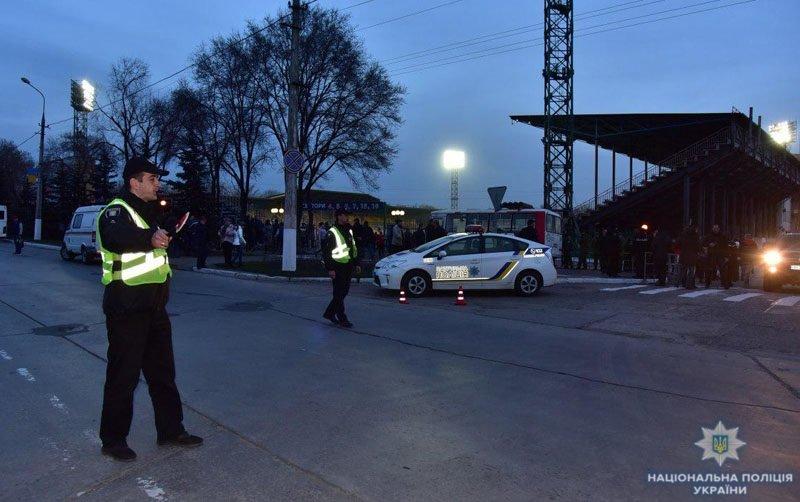 В потасовке с ультрас пострадали 9 полицейских (ФОТО, Дополнено), фото-1