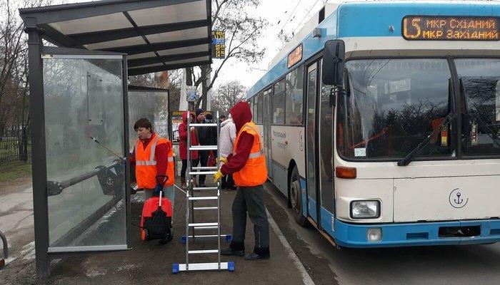 В Мариуполе новые остановки будут мыть дважды в месяц за 174 тыс. грн (ФОТО), фото-6