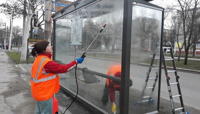 В Мариуполе новые остановки будут мыть дважды в месяц за 174 тыс. грн (ФОТО), фото-8