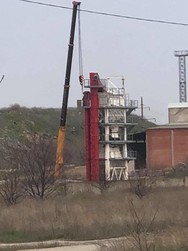 На  турецком асфальтовом заводе в Мариуполе  начался  демонтаж конструкций (ФОТО), фото-2