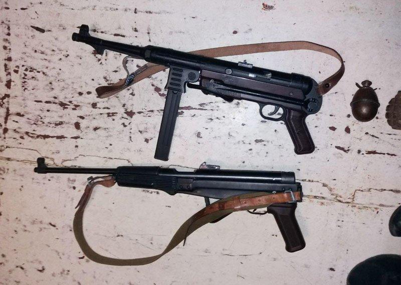 У мариупольца полиция изъяла арсенал оружия времен Второй мировой войны (ФОТО), фото-3