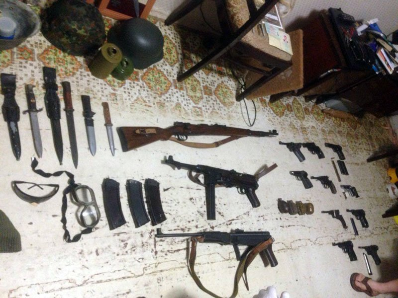 У мариупольца полиция изъяла арсенал оружия времен Второй мировой войны (ФОТО), фото-7