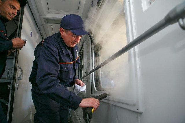В Мариуполе ж/д вагоны будут мыть по новой технологии, - ФОТО, фото-4