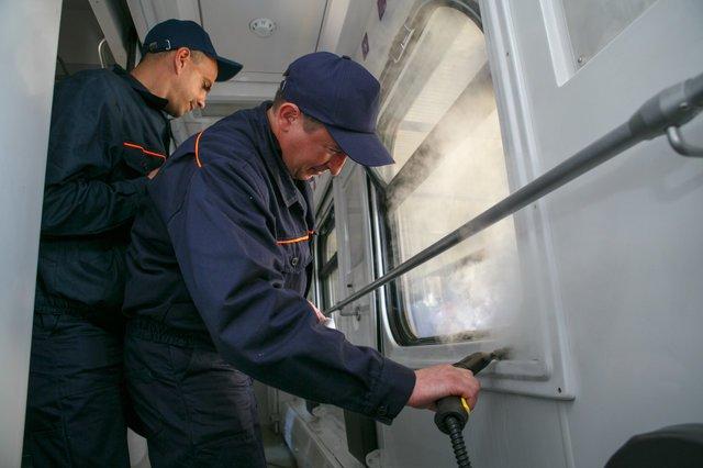 В Мариуполе ж/д вагоны будут мыть по новой технологии, - ФОТО, фото-3
